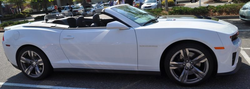 2014 Camaro ZL1 Convertible Blasts Off in Wild Sprint Starts -- 2 In-Car and 1 HD GoPro Hood-mounted Video 7