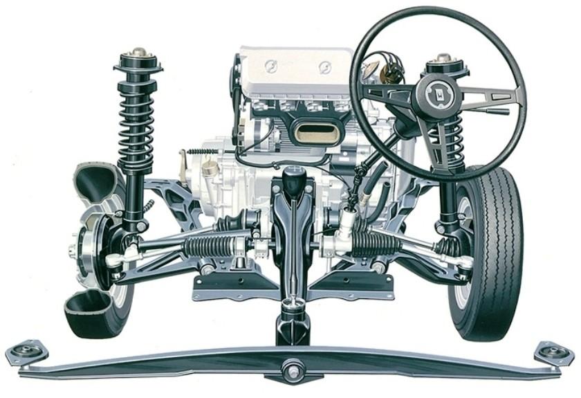 Automotive Artist Showcase -- 3D Mechanical Illustrator Hisashi Saito -- 30 Stunning See-Through Honda Designs 11