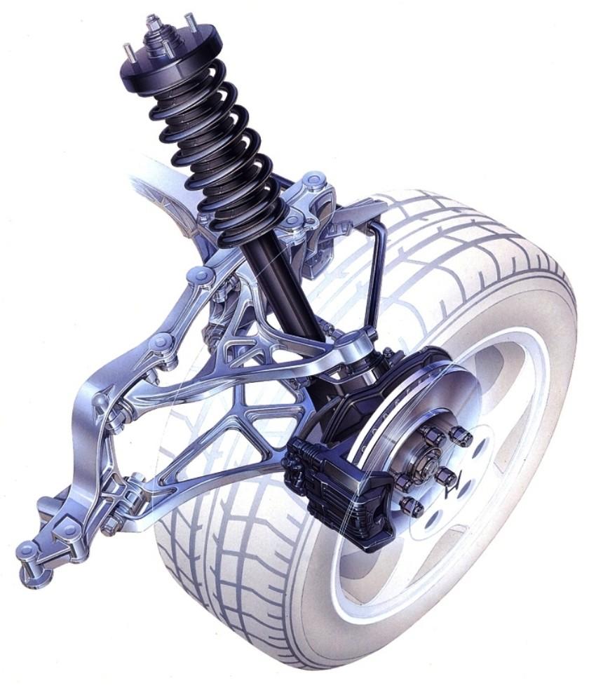 Automotive Artist Showcase -- 3D Mechanical Illustrator Hisashi Saito -- 30 Stunning See-Through Honda Designs 22
