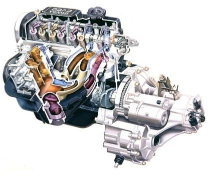 Automotive Artist Showcase -- 3D Mechanical Illustrator Hisashi Saito -- 30 Stunning See-Through Honda Designs 9