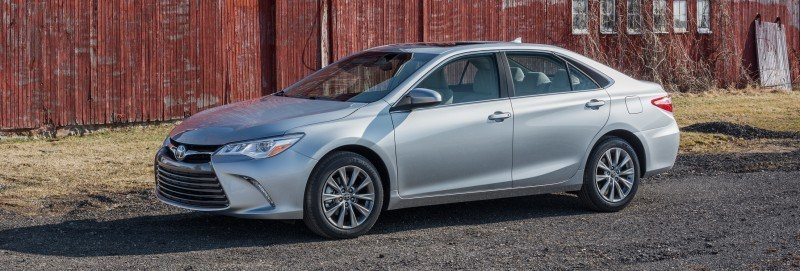 Car-Revs-Daily.com 2015 Toyota Camry Redesign Delivers Greater Chassis Strength, Wider Stance and More LED Style 34