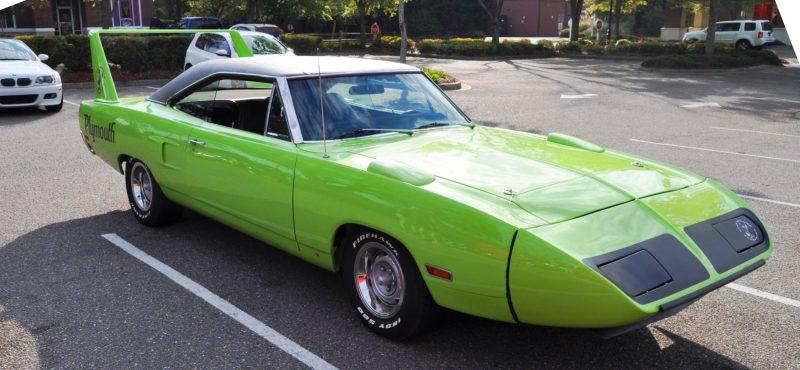 Classic Showcase -- 1970 Plymouth Road Runner Superbird at Charleston Cars Coffee 27