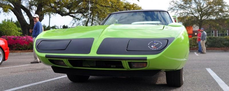Classic Showcase -- 1970 Plymouth Road Runner Superbird at Charleston Cars Coffee 33