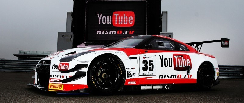 Nissan GT-R GT3 COnfirmed for 2014 Nurbugring 24H Race in June 24