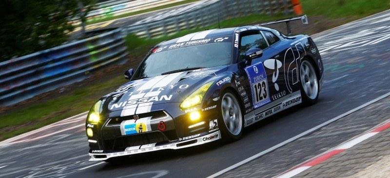 Nissan GT-R GT3 COnfirmed for 2014 Nurbugring 24H Race in June 8
