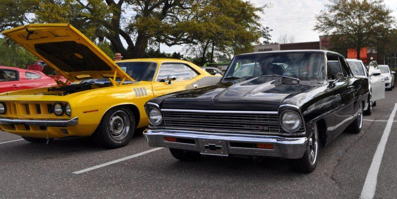 VIDEOS - Charleston Cars & Coffee - 1967 Chevy Nova, Drag-Prepped Hudson and 2002 Superformance Cobra 1