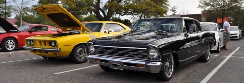 VIDEOS - Charleston Cars & Coffee - 1967 Chevy Nova, Drag-Prepped Hudson and 2002 Superformance Cobra 2