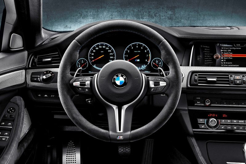 Gone in 3.7s - 30th Anniversary BMW M5 Adds 25 Horsepower, New Steering and New Active M Rear Diff 13