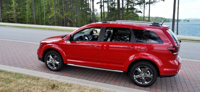 Road Test Review - 2014 Dodge Journey Crossroad - We Would Cross the Road to Avoid 23