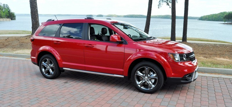 Road Test Review - 2014 Dodge Journey Crossroad - We Would Cross the Road to Avoid 6