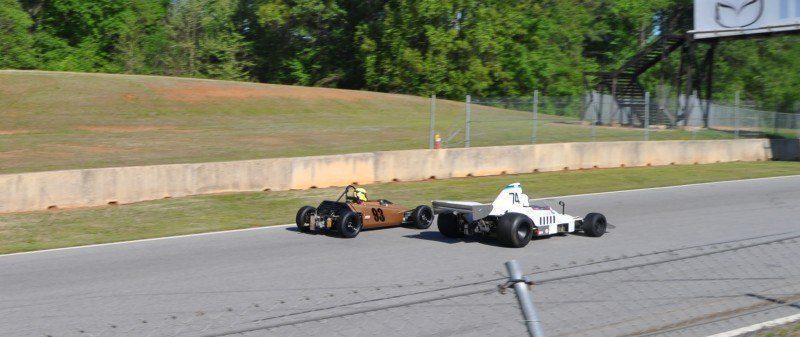 The Mitty 2014 at Road Atlanta - Monoposto Formula and Classic - Group 4A and 4B 36