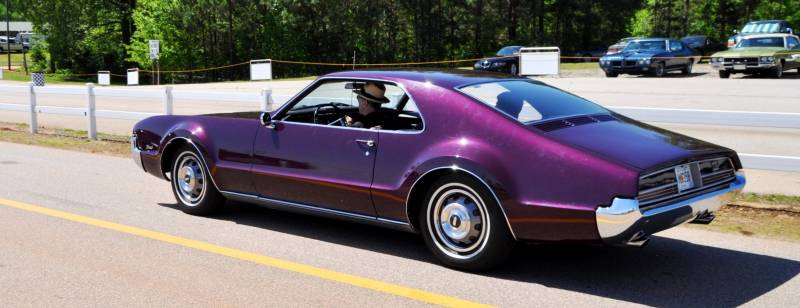 The Mitty's Most Curious Parade Lapper - 1966 Oldsmobile Toronado in Riddler Purple 5