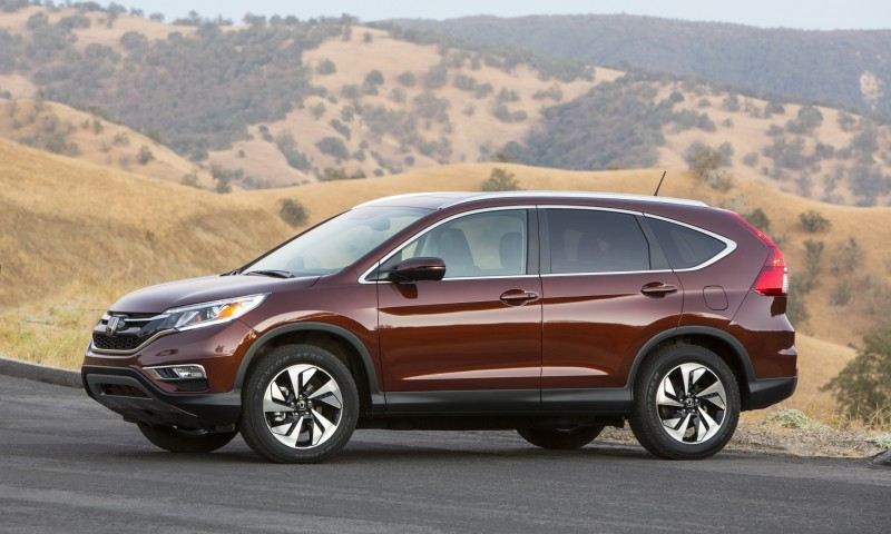 2015 Honda CR-V Revealed With More Torque, More Tech and New Touring Trim 1