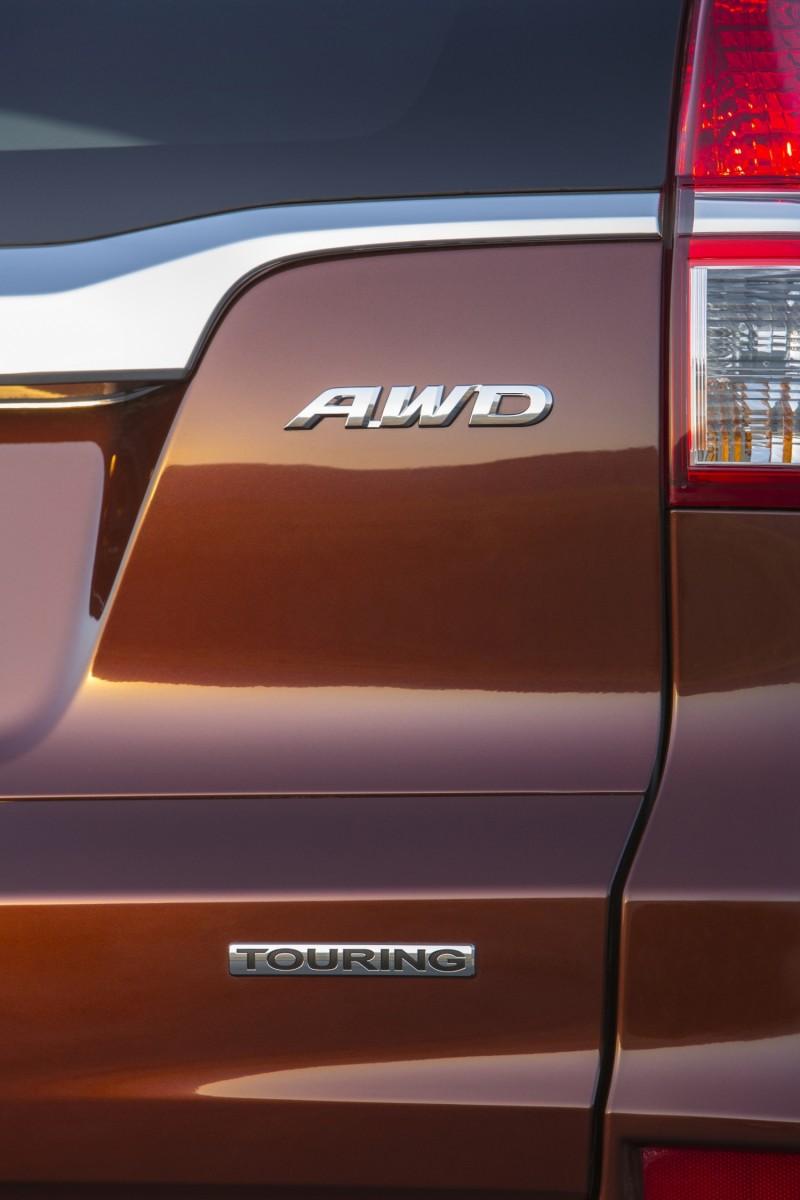 2015 Honda CR-V Revealed With More Torque, More Tech and New Touring Trim 13