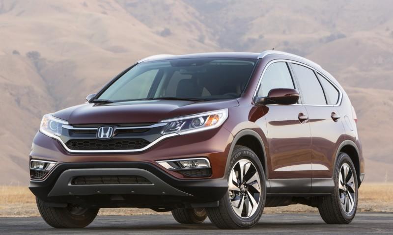 2015 Honda CR-V Revealed With More Torque, More Tech and New Touring Trim 15
