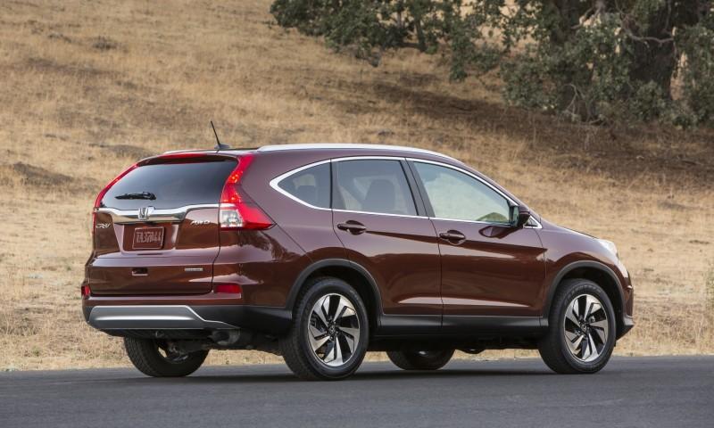 2015 Honda CR-V Revealed With More Torque, More Tech and New Touring Trim 18