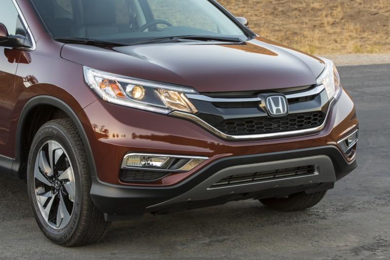 2015 Honda CR-V Revealed With More Torque, More Tech and New Touring Trim 27
