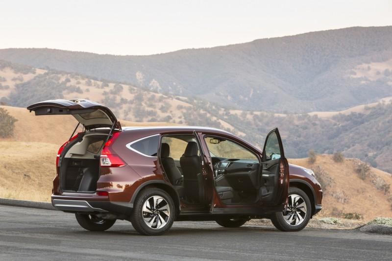 2015 Honda CR-V Revealed With More Torque, More Tech and New Touring Trim 28