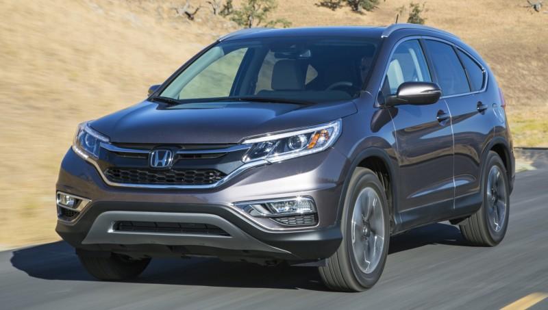 2015 Honda CR-V Revealed With More Torque, More Tech and New Touring Trim 33