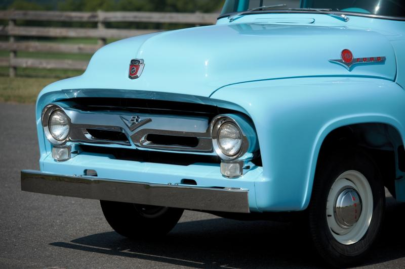1956 Ford F-100 Panel Truck 11