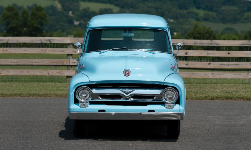 1956 Ford F-100 Panel Truck 13