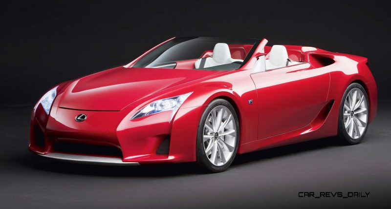 2007 Lexus LF-A Roadster 10