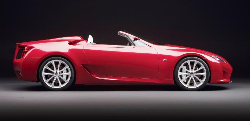 2007 Lexus LF-A Roadster 11