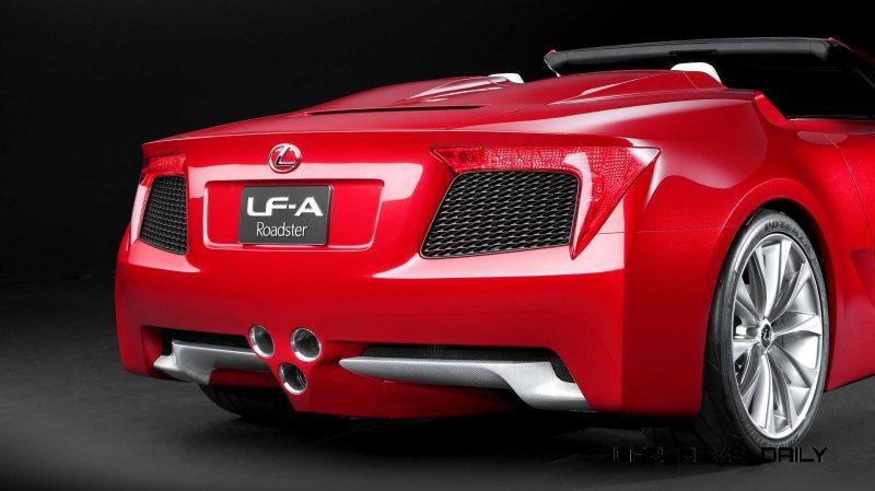 2007 Lexus LF-A Roadster 5