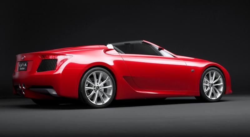 2007 Lexus LF-A Roadster 6