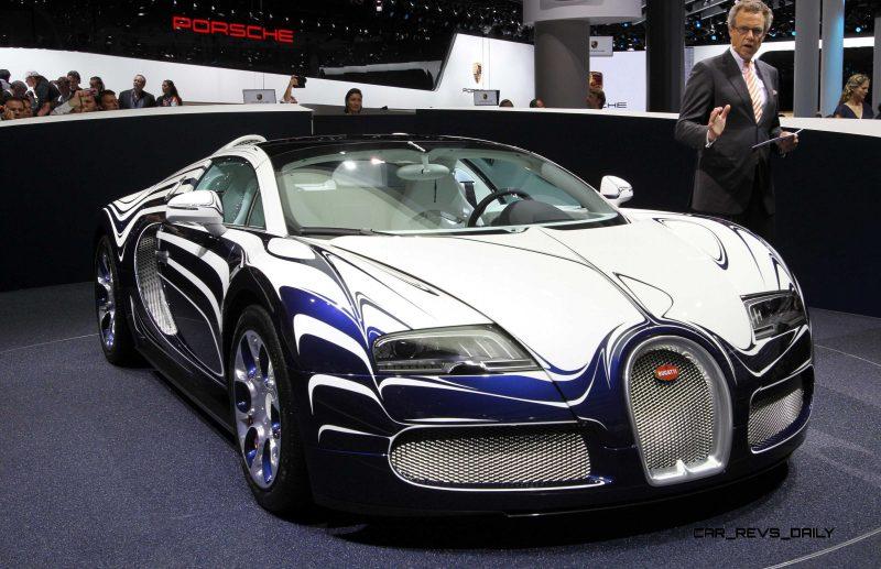 2011 Bugatti Veyron L'Or Blanc 34