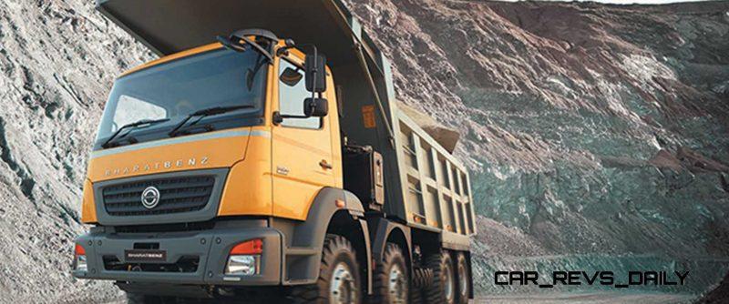2014 BharatBenz Trucks 70