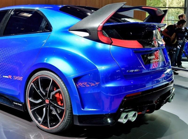 2015 Honda Civic Type R Concept Two Makes Paris Debut 8