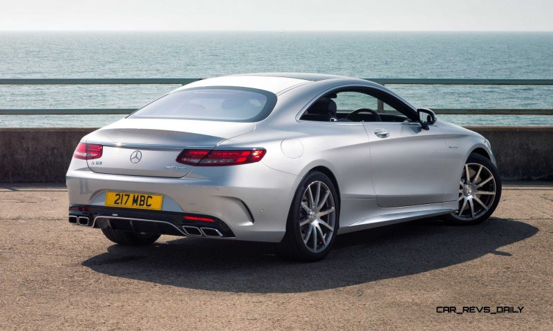 2015 Mercedes-Benz S63 AMG Coupe 12