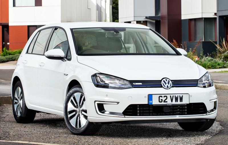 2015 Volkswagen e-Golf 5
