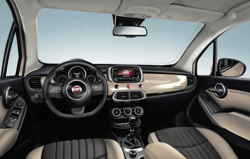 2016 Fiat 500X Makes Paris Debut With Optional AWD and 9-Speed Automatic 9