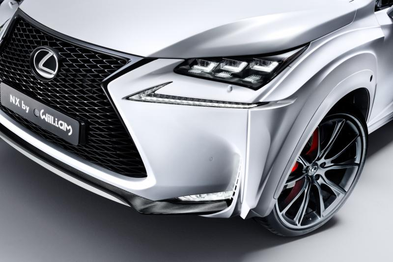 2016 Lexus NX-F Concept 4