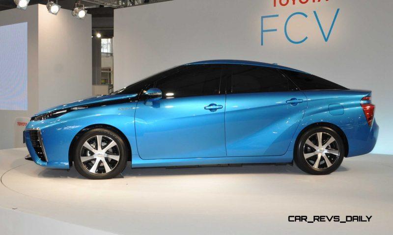 2016 Toyota FCV Production Car 15