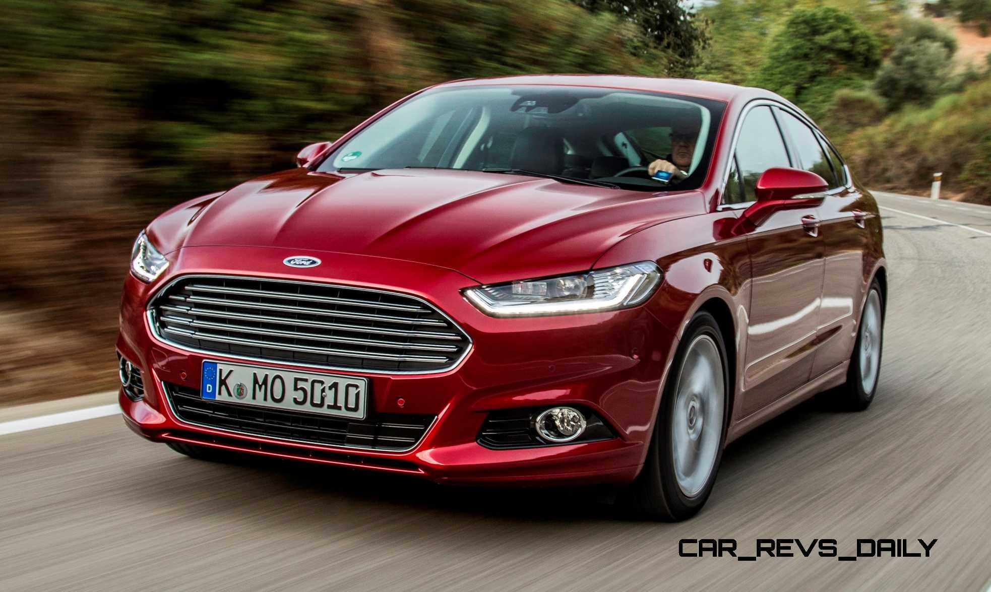 Update1 2015 Ford Mondeo Brings New LED Headlights