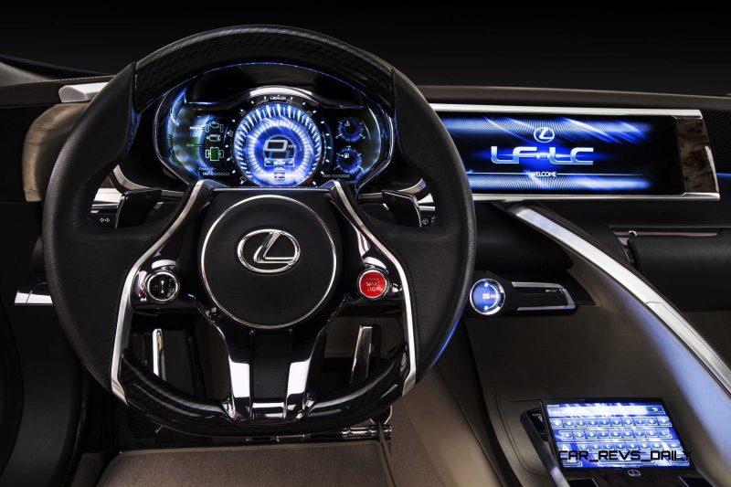Concept Flashback - Lexus LF-LC in 77 High-Res Photos - Future LF-B 10
