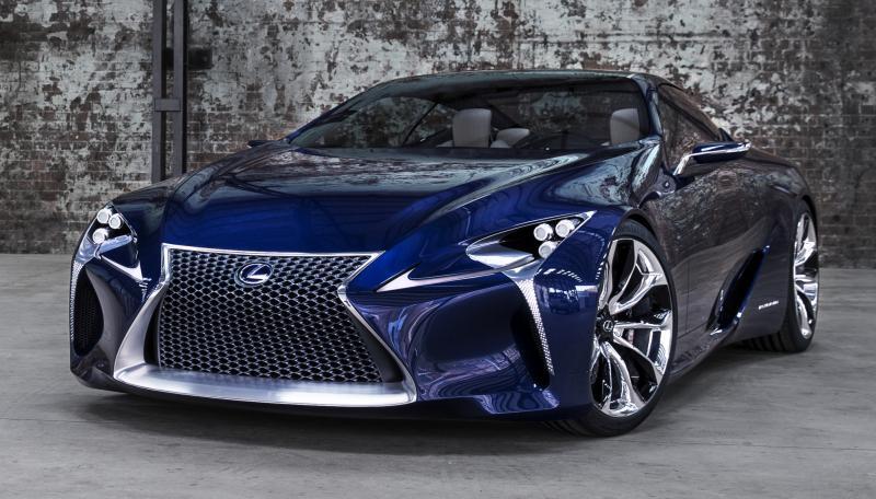 Concept Flashback - Lexus LF-LC in 77 High-Res Photos - Future LF-B 19