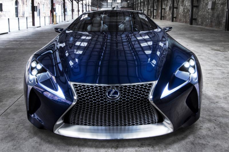 Concept Flashback - Lexus LF-LC in 77 High-Res Photos - Future LF-B 23