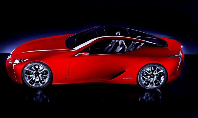 Concept Flashback - Lexus LF-LC in 77 High-Res Photos - Future LF-B 27
