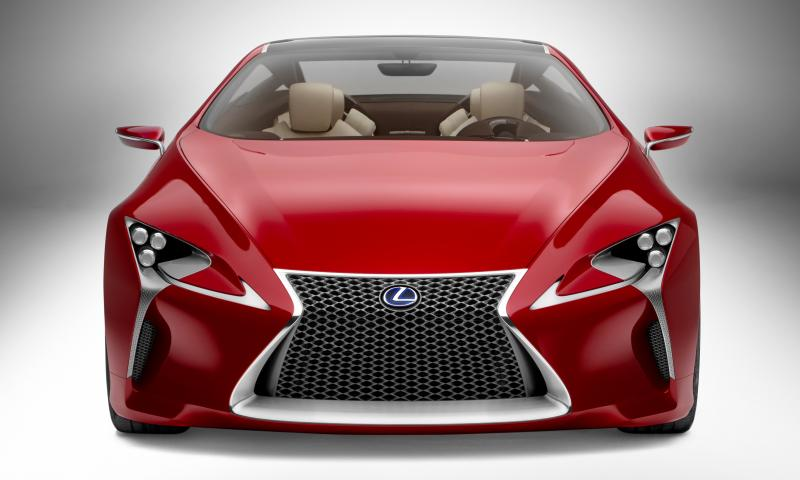 Concept Flashback - Lexus LF-LC in 77 High-Res Photos - Future LF-B 35