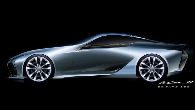 Concept Flashback - Lexus LF-LC in 77 High-Res Photos - Future LF-B 54