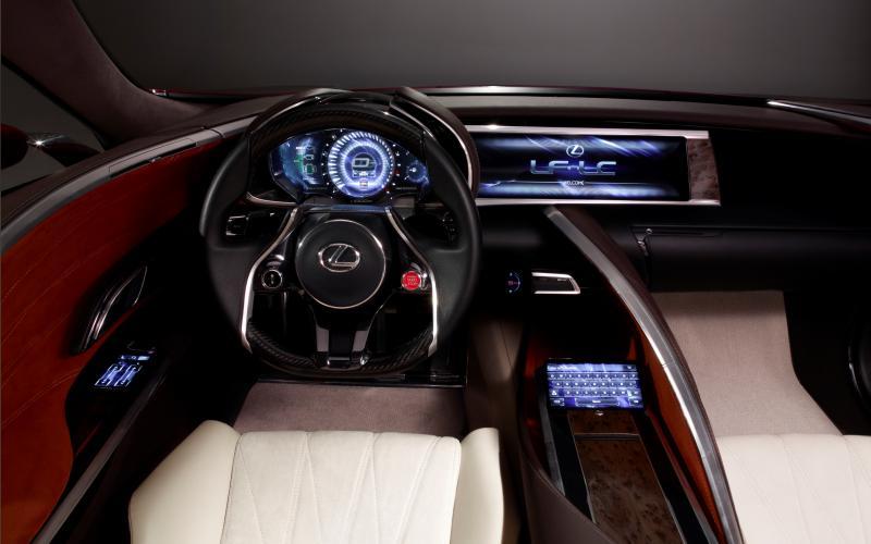 Concept Flashback - Lexus LF-LC in 77 High-Res Photos - Future LF-B 58