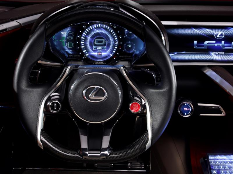 Concept Flashback - Lexus LF-LC in 77 High-Res Photos - Future LF-B 60