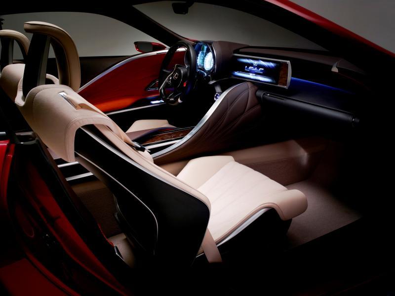 Concept Flashback - Lexus LF-LC in 77 High-Res Photos - Future LF-B 63