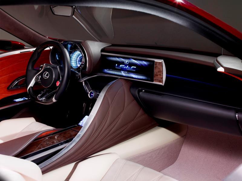 Concept Flashback - Lexus LF-LC in 77 High-Res Photos - Future LF-B 65