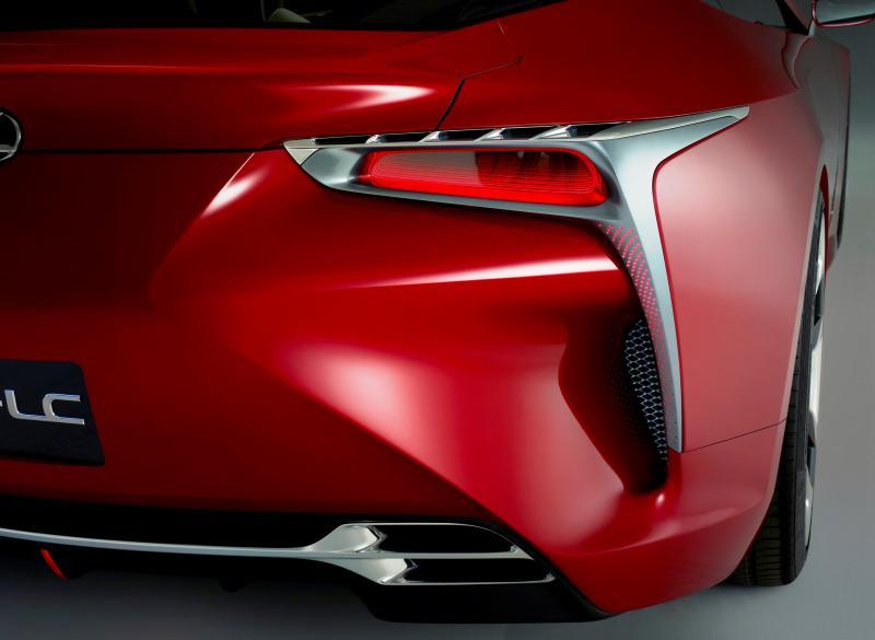 Concept Flashback - Lexus LF-LC in 77 High-Res Photos - Future LF-B 66