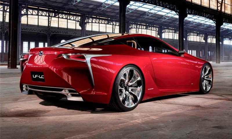 Concept Flashback - Lexus LF-LC in 77 High-Res Photos - Future LF-B 75